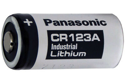 8-Pack Panasonic Industrial CR123A 3 Volt Lithium Batteries (CR17345)