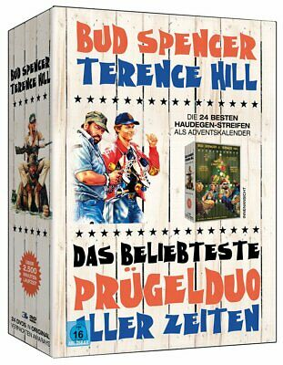 24 DVD´s Die große Bud Spencer & Terence Hill Weihnachts-Box ltd Fan-Edition NEU