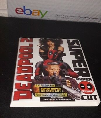 Deadpool 2 (, 2018 Super Duper Cut) +Slipcover Only