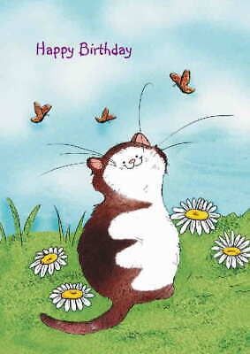 From The Cat Birthday Cards Personalised Optional