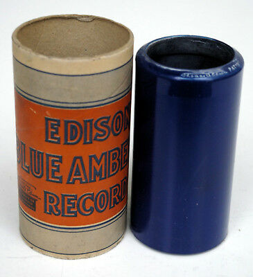 Edison Blue Amberol Record, Vinylwalze ohne Nr., French Lesson No. 12, USA 1917