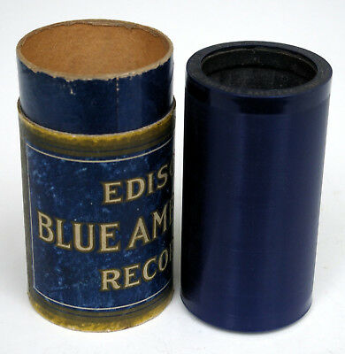 Edison Blue Amberol Record, Vinylwalze, Ohne Nr., If I Must Say Farewell, 1908