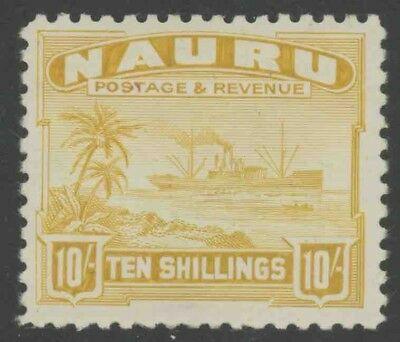 NAURU, MINT #17-28a, 30a, OG NH/LH, (1) SHOWN, GREAT CENTERING