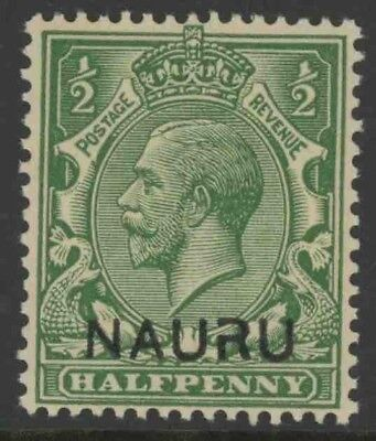 "Nauru, Mint #1, ""Broken R"",  Og Nh, Great Centering"