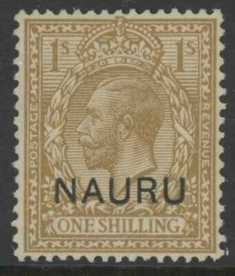 Nauru, Mint #1-12, Og Lh, Cs/12, Great Centering