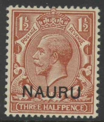 Nauru, Mint #3, Og Lh, Great Centering