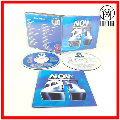 Now Thats What I Call Music 21 Fat Box 2 CD 1992 EMI Vintage Various Artist N3