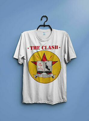 Rare Vintage The Clash Know Your Rights T Shirt S-2Xl