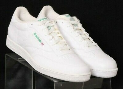 68b57039f6f Reebok Classic Club C 85 White Casual Comfort Walking Sneakers Men s US 13W