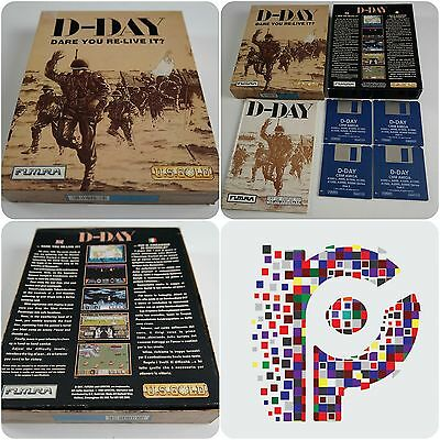 D-Day A US Gold Game for the Commodore Amiga Computer tested & working