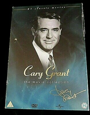 Cary Grant The Movie Collection 21 Movies (On 18 Discs Boxset) Uk Region 2 Dvd
