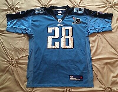 CHRIS JOHNSON TENNESSEE Titans 2012 Certified Mirror Gold Game  hot sale
