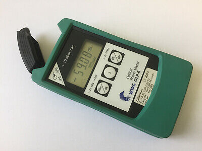 Used WWG OLP-6 Optical Power Meter BN: 2256/02