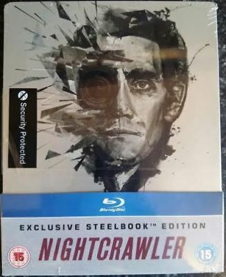 Nightcrawler Blu-ray HMV Exclusive UK SteelBook NEW & SEALED