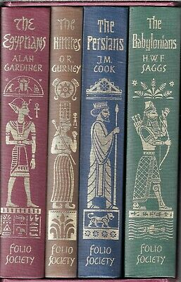 """""""Empires Of The Ancient Near East"""" Folio Society - 4 Volumes - H.c."""