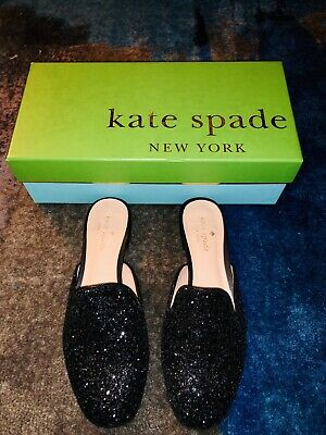 Clothing, Shoes & Accessories Kate Spade Womens Carson Black Soft Calf Loafers Size 6.5 253163