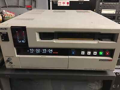 Sony UVW-1800 BetaCam SP VCR Recorder Working HRs In Pics #1