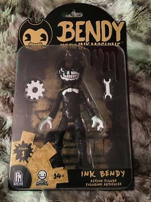 Bendy And The Ink Machine Action Figure  Ink Bendy  Brand New!