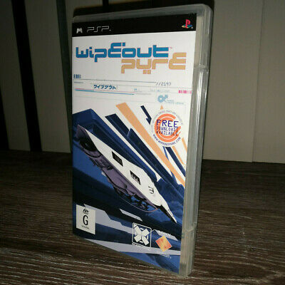 WipEout Pure (Sony PSP, 2005) Complete w/ Manual