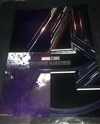Brand New El Capitan Theater Avengers Endgame poster exclusive , free shipping
