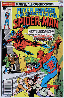 Peter Parker The Spectacular Spider-Man #1 Vol 1 - Marvel Comics - Gerry Conway