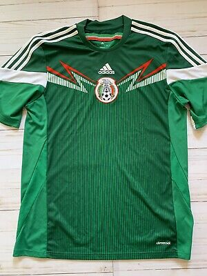 86d84d846d0 ADIDAS MEXICO ADIZERO Home Jersey Large Authentic Fifa World Cup ...