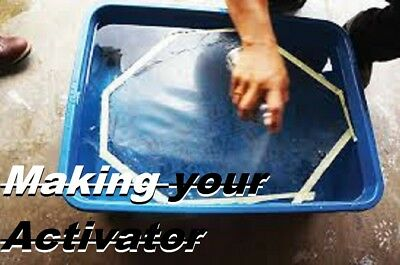 FORMULA #3 FOR water-transfer printing activator