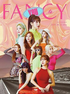 TWICE - FANCY YOU CD(random ver)+5Photocards+Poster+Free Gift CA