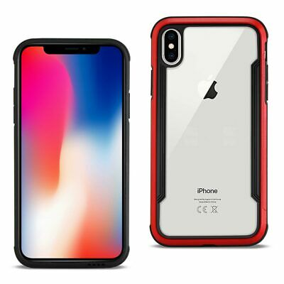 Reiko APPLE IPHONE X Defense Shield Case In Red