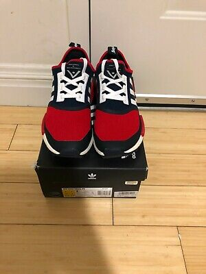e9d28dcec ADIDAS NMD WM Trail PK White Blue Red Size 7.5 ( EXCELLENT CONDITION ...