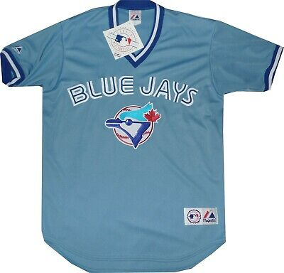 New Toronto Blue Jays Alternate Blue Replica Throwback Majestic Jersey A6400