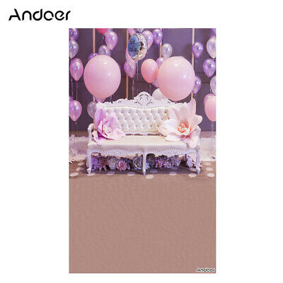 Andoer 1.5 * 0.9m/5 * 3ft Birthday Party Photography Background Balloon B1T8