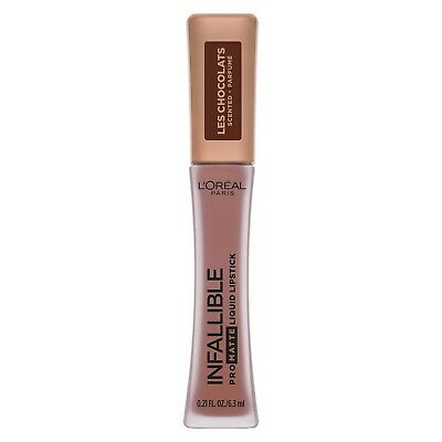 New Loreal Infallible Pro Matte Les Chocolats Lipstick Choose Shade Sale