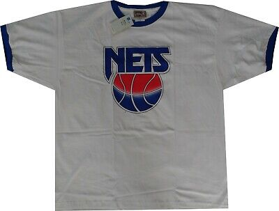c715547178a New Jersey Nets 1993 Throwback Hardwood Classics Ringer Shirt 3XL New with  tags