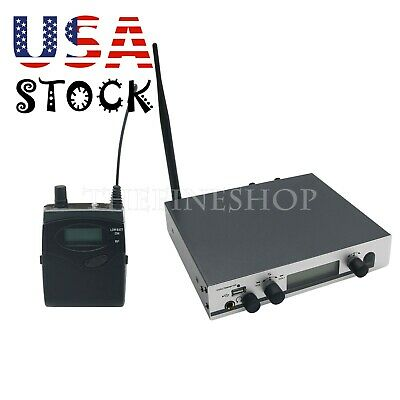 Professional UHF 572-603MHz Wireless In-Ear Headphones Monitor Transmitter -US