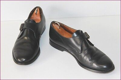 Balizza Derby Shoes Loops Vintage all Leather Black T 39.5 Be