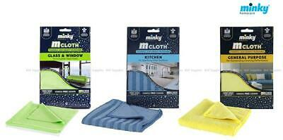 Minky M Cloth Glass And Window Mircrofibre Cleaning Cloth