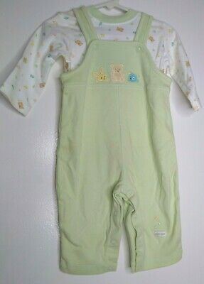 Child of Mine by Carter's Infant Boys 2 Pc Set Overall & shirt NWT 6-9 Months