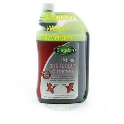 Blagdon pond anti fungus and bacteria fish treatment 250ml
