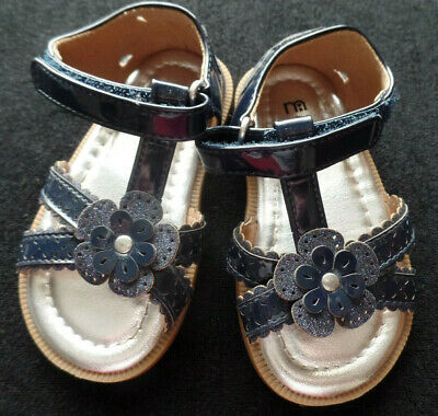Mothercare Baby Girl's Blue Sandals size 5
