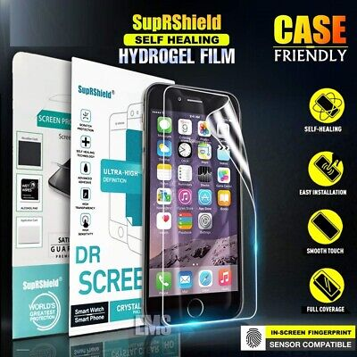 SupRShield Apple iPhone 6 6S Plus HYDROGEL Crystal Full Cover Screen Protector