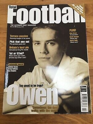 Total Football Magazine Issue 44 February 1999 Owen