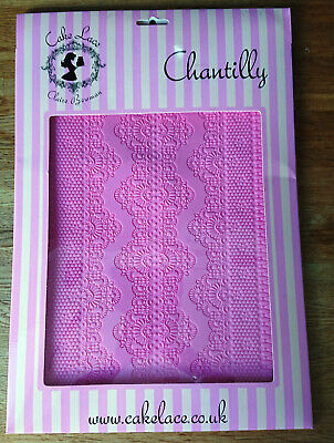 Claire Bowman Cake Lace Mat - CHANTILLY Design - Used Once - FREE P&P