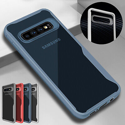 For Samsung S10 Plus S10e Case S9 S8 Hybrid Soft TPU Clear Slim Shockproof Cover