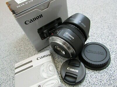 Genuine Canon EF 50mm 1:1.8 STM Lens