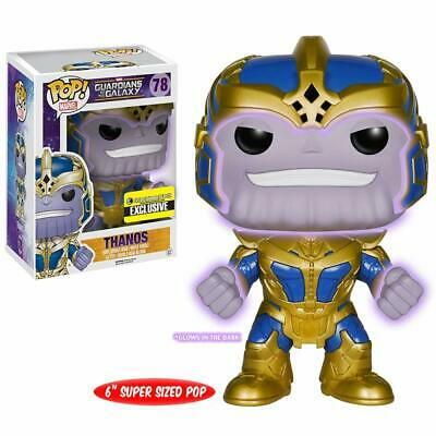 DAMAGED Funko POP! Guardians of The Galaxy Thanos Glow in The Dark Exclusive