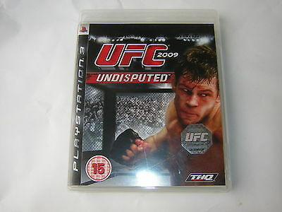 playstation 3 UFC 2009 Undisputed    PS3
