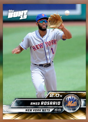 2019 Topps BUNT [Digital Card] Series 1 Tier 5 GOLD 2x Boost Amed Rosario