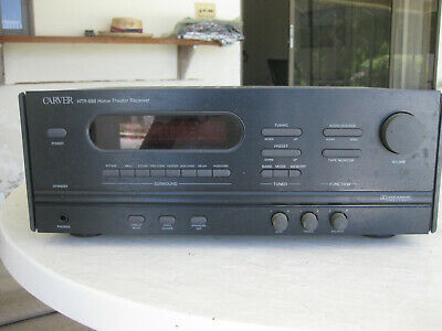 Carver Htr-880 5.1 Channel Home Theater Receiver with Manual