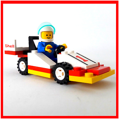 LEGO TOWN SHELL Sprint Racer 6503 100% Complete With Instructions
